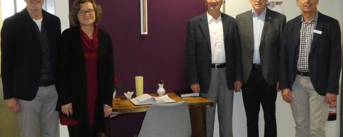 Neu gestalteter Kondolenzbereich im Seniorenzentrum